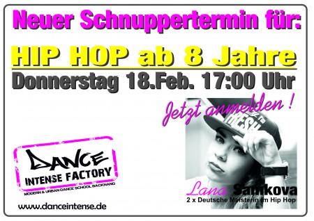 Lana Hip Hop ab 8 Do 2